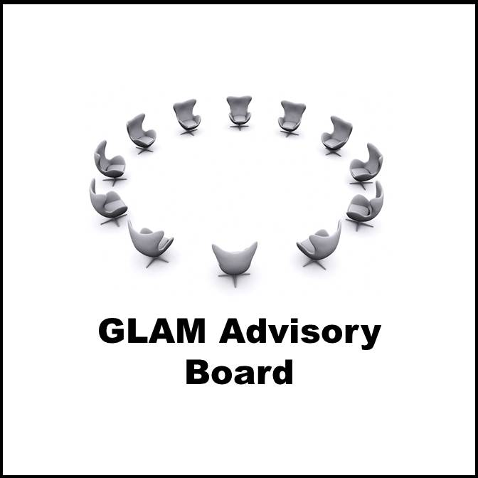 Glam button